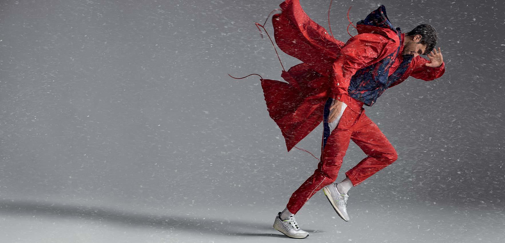 Lacoste x Novak Djokovic: always move forward.